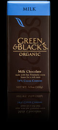 Green and Blacks yummy choc